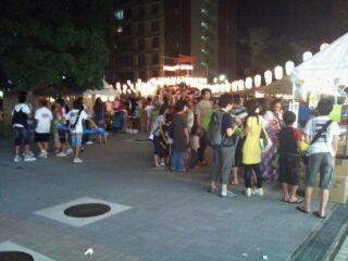 亀戸2丁目団地夏祭り